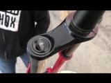 That @rockshox Lyrik red!