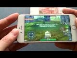 Точная копия iPhone 6s Gold (Android 6.0, nano-sim, оболочка iOS8) / Лучший китайский айфон 6s