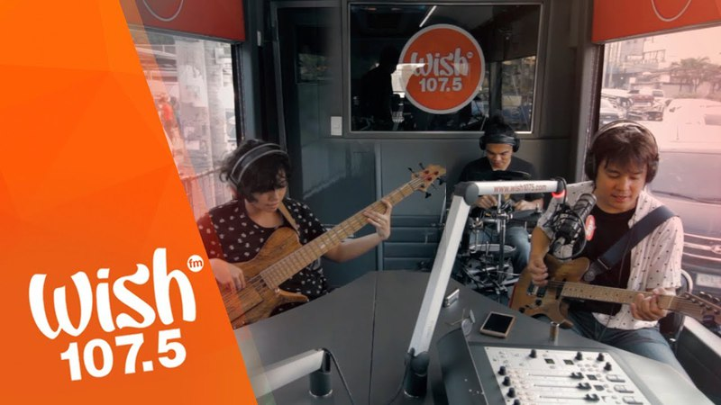 The Blue Jean Junkies perform Fine Company LIVE on Wish 107.5 Bus
