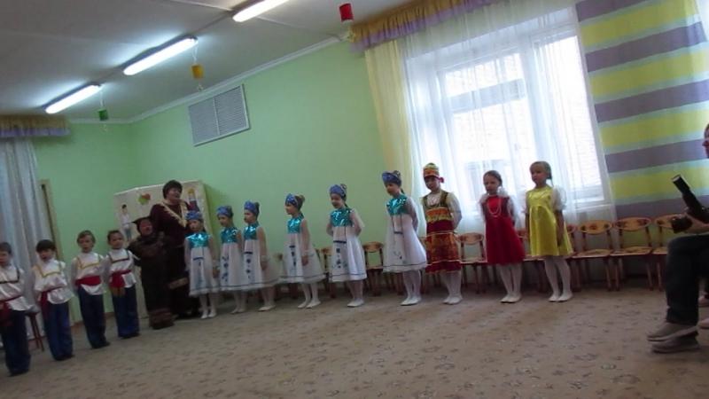 MVI 1537Мастер класс Русский сувенир в 95 детском саду г Омска