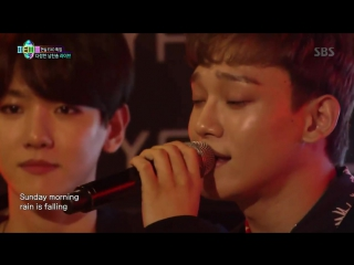 [CUT] 171001 EXO Chen - Sunday Morning @ JYP Party People