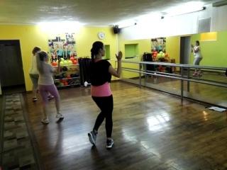 Тренировка танцевальная аэробика/стрип в фитнес клубе Пантера