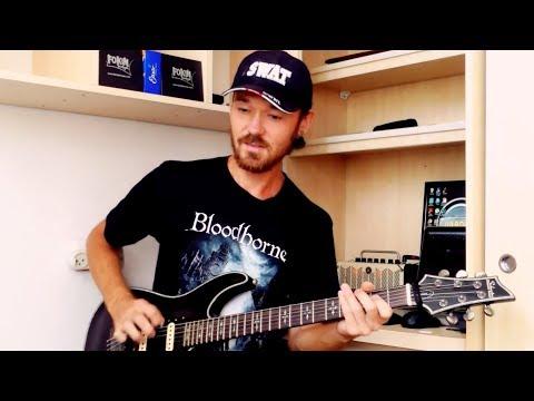 Одна из главных проблем правой руки при игре на гитаре