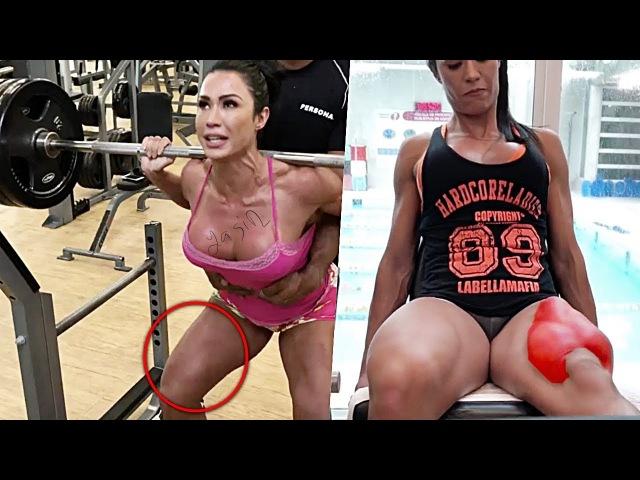 BACAKLAR TİTREYENE KADAR YÜKLENMEK !! ÜST SEVİYE EGZERSİZ !! - Fitness Motivasyon