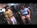 Dennis Wolf Trains Hamstrings with Milos Sarcev