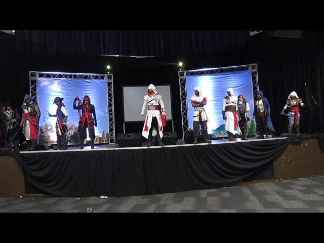 FMA 2016 Cosplay Grupal: Assasin Creed Group, dia 2