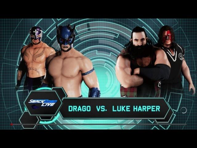 SBW SmackDown - Drago vs Luke Harper