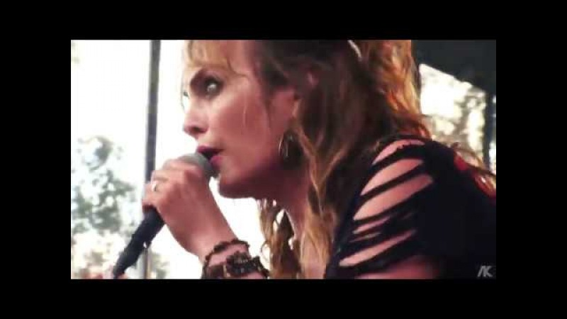 Netta Laurenne Official Deep Purple's Burn with Run for Cover Band