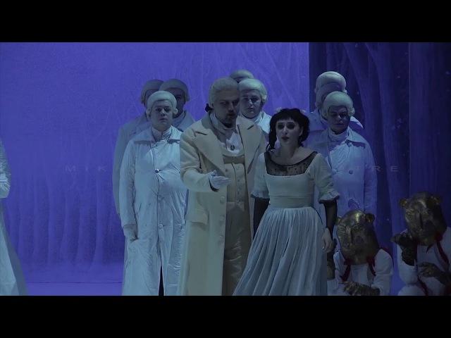 Alexey TIKHOMIROV Valentina FEDENEVA - Sarastro and Pamina scene - MIKHAILOVSKY THEATRE
