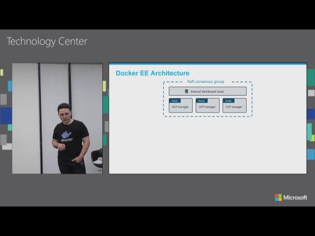 Развертывание Hybrid-os приложений с Docker EE workshop