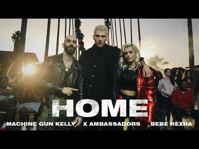 Machine Gun Kelly, X Ambassadors Bebe Rexha - Home (from Bright: The Album) [Music Video]