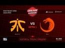 Fnatic vs TNC DreamLeague SEA Qualifier game 1 Mortalles Autodestruction