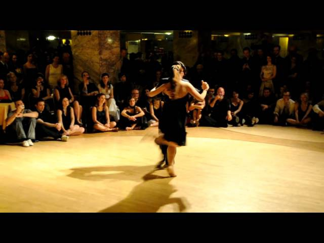 Fernando Sanchez y Ariadna Naveira 100% tango festival Ljubljana 26-03-2011