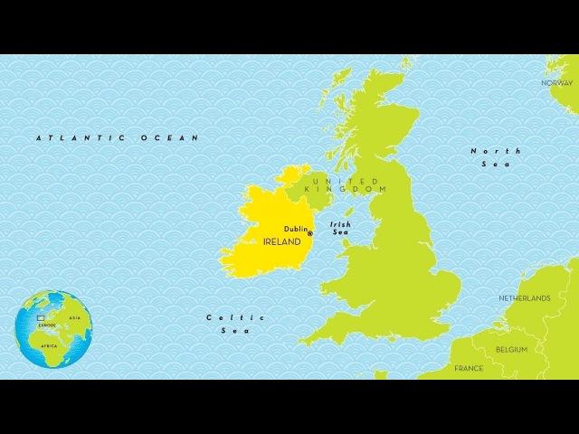 Ирландия, островное государство (рассказывает Марат Сафаров)