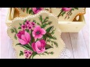 How to decorate beautiful Flower Cookies with AIRPEN