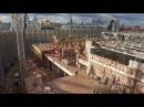 Москва Кремль грандиозная реконструкция Уже разобран Президентский корпус