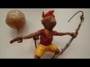 Ёлочная игрушка Цирковая обезьяна