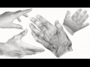How to Draw HANDS SHADING