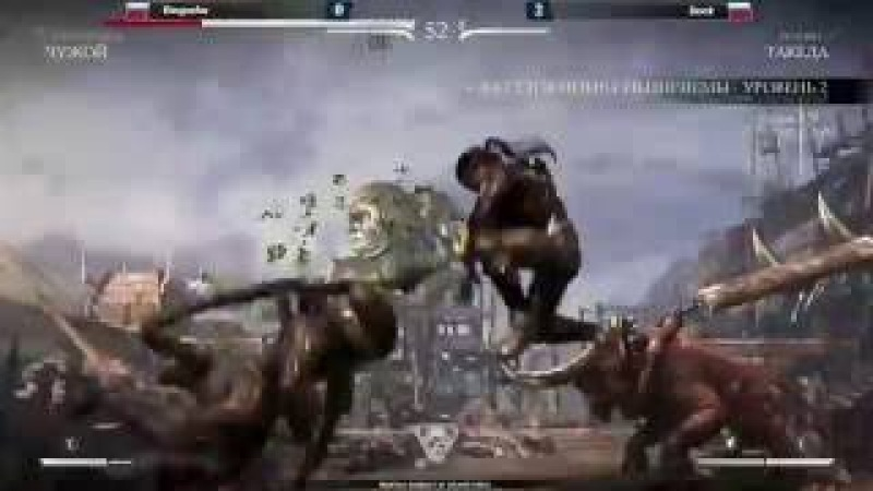 Mortal Kombat X. Kingusha vs Dock epic comeback in grandfinal
