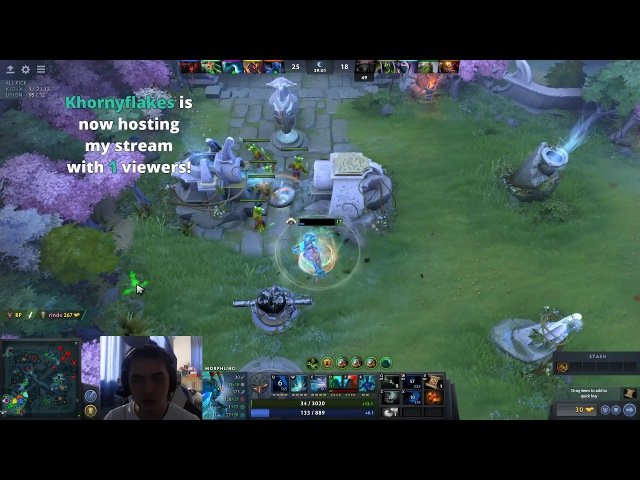 IceIceIce Morphling Armlet Toggle | DotA 2 Gameplay | DotA 2 Highlights