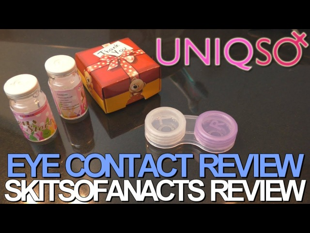 Uniqso Lens Story Twilight Grey | SkitsoFanActs Review