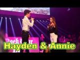 Hayden Summerall &amp Annie LeBlanc  ( LIVE in Concert  ) Little Do You Know by Alex &amp Sierra