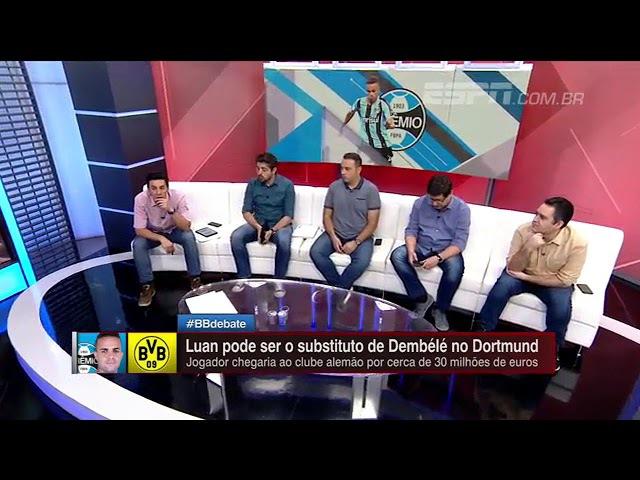 Comentarista Jorge Nicola traz informações sobre a possível saída de Luan