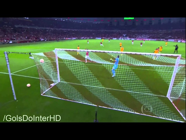 INTER 2 x 1 Tigres Gols Libertadores 2015 15 07 2015