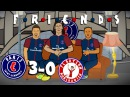 ☕ MCN are FRIENDS ☕ PSG vs Bayern Munich 3-0 (Champions League 2017 Parody Goals and Highlights)