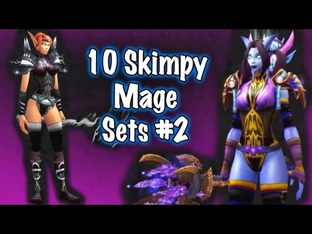 Jessiehealz - 10 Skimpy Mage Sets 2 (World of Warcraft)