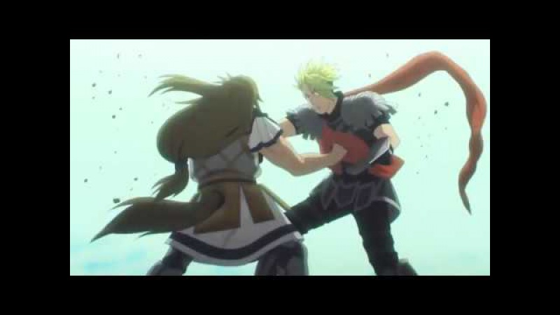 FateApocrypha Ep 21 - Achilles VS Chiron Final Fight