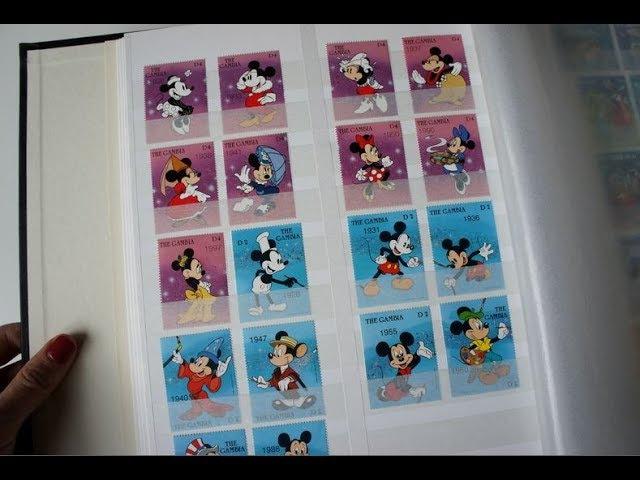 Филателия: Коллекция марок DISNEY 3 Мое хобби