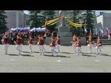 Танец барабанщиц Чувашская Республика МБДОУ