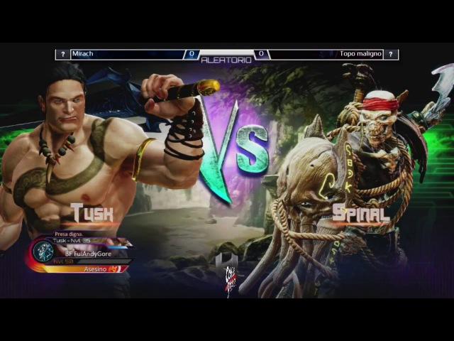 Killer Instinct Christmas Edition - Topomaligno (Tusk, General RAAM) vs Mirach (Spinal, Kan-Ra)