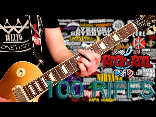 100 Riffs – The Greatest Rock N Roll Guitar Riffs
