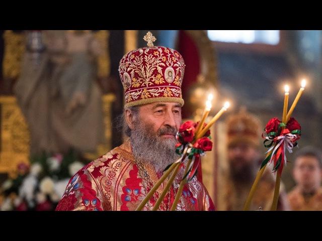 Проповідь Предстоятеля УПЦ в день пам'яті сщмч. Володимира (Богоявленського)