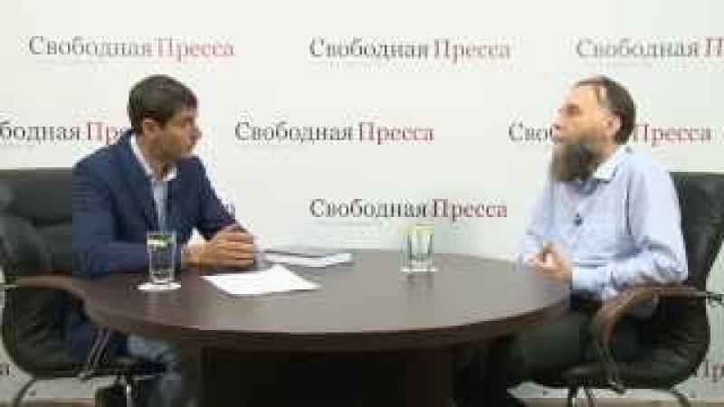 Александр Дугин Спор вокруг Путина это движение белки в колесе Первая часть