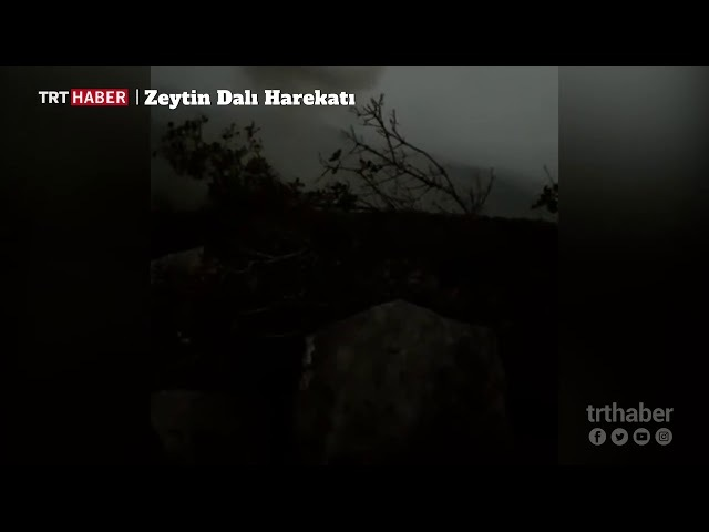 Afrin racoda çatışma anları şehit olan 8 Askerimizin intikam ları Alındı