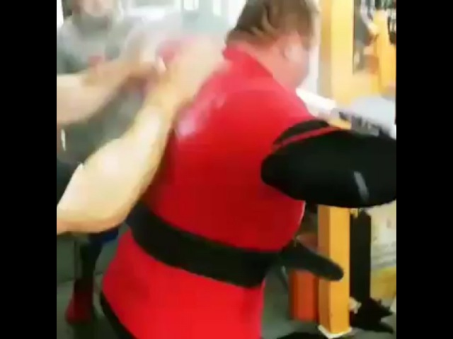 """Ptc Headquarters on Instagram: """"Vlad Alhazov squatting 532.5kg in training, ignore the lack of calibrated plates and that it's an inch high, it's 5..."""