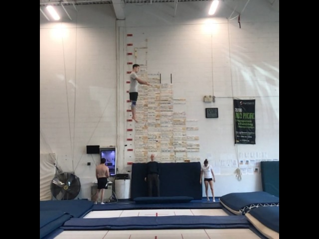 Jason Burnett on Instagram Compulsory routine update It's getting higher and cleaner ⬆️ 🛀🏻 😃 @skyriderstrampolineplace @cdngymnastics @teamca