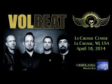 VOLBEAT - La Crosse, WI, USA - April 18, 2014 - FULL SHOW (HD)