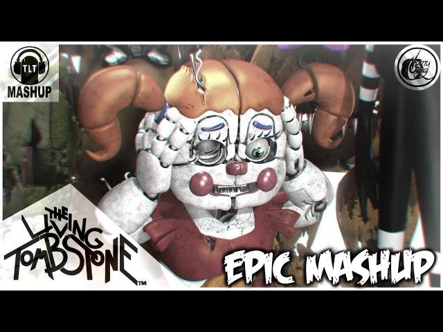 FNAF 1-5 EPIC MASHUP ORIGINAL MUSIC VIDEO (TLT)