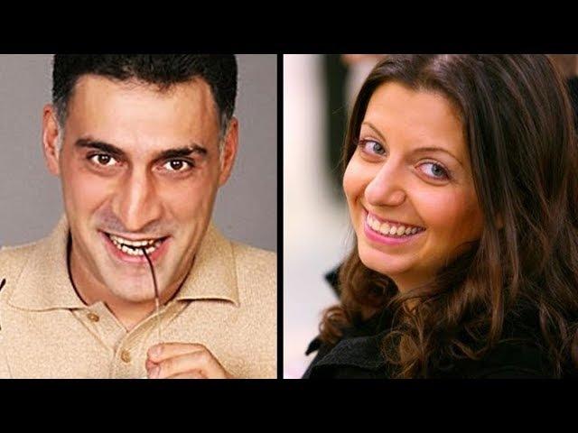 Маргарита Симонян и Тигран Кеосаян.