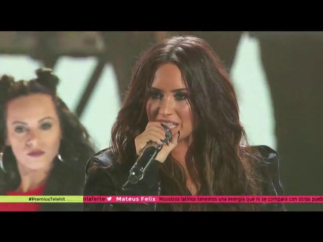 Demi Lovato - Confident (Live at Premios Telehit )