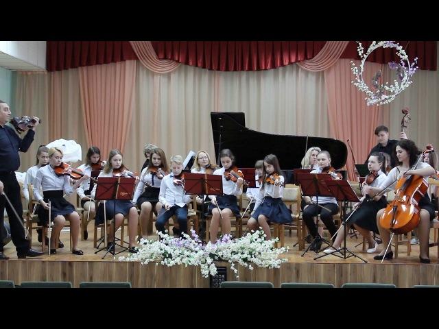 Выступление камерного оркестра ДМШИ г.Барановичи