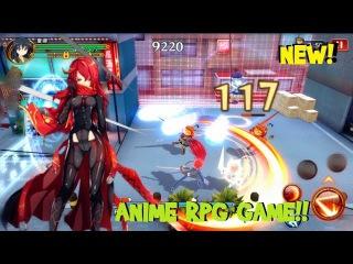 COOL!! | Shakugan no SHANA NEW android / IOS RPG gameplay  灼眼的夏娜