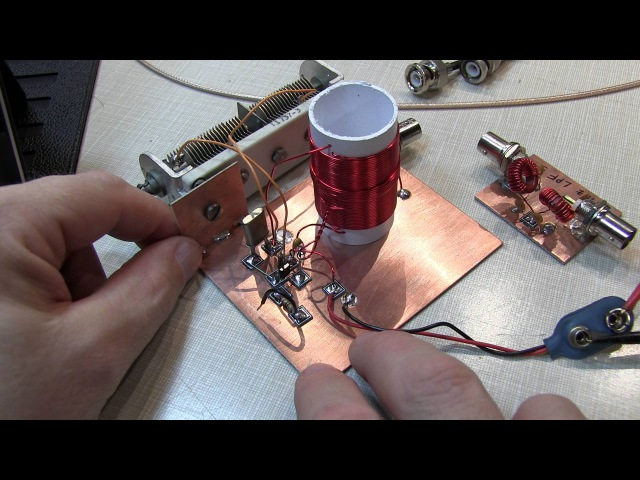 228: Radio Fun: Michigan Mighty Mite CW transmitter and a low pass filter