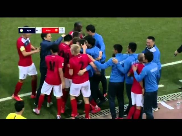Tajikistan Kyrgyzstan Таджикистан Киргизия 0 1 Goal V Lux WC Qualification Asia 29 03 2016