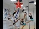 Пол Денс Pole Dance Новогоднее поздравление от школы шестовой акробатики Ханты-Ман