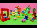 Lego! Yapı oyuncakları. Blok yapma oyunu. Market oyunu oynadık! Kreş oyuncakları! Blok oyuncak